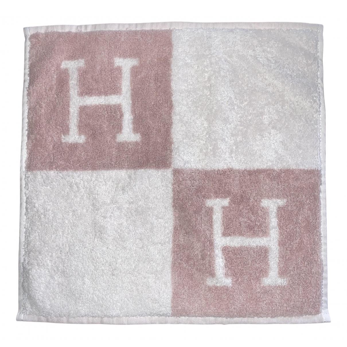 Hermes - Linge de maison Avalon pour lifestyle en coton - rose