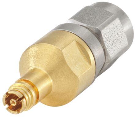 Rosenberger Straight 50Ω RF Adapter SMP Socket to SMA Plug 40GHz