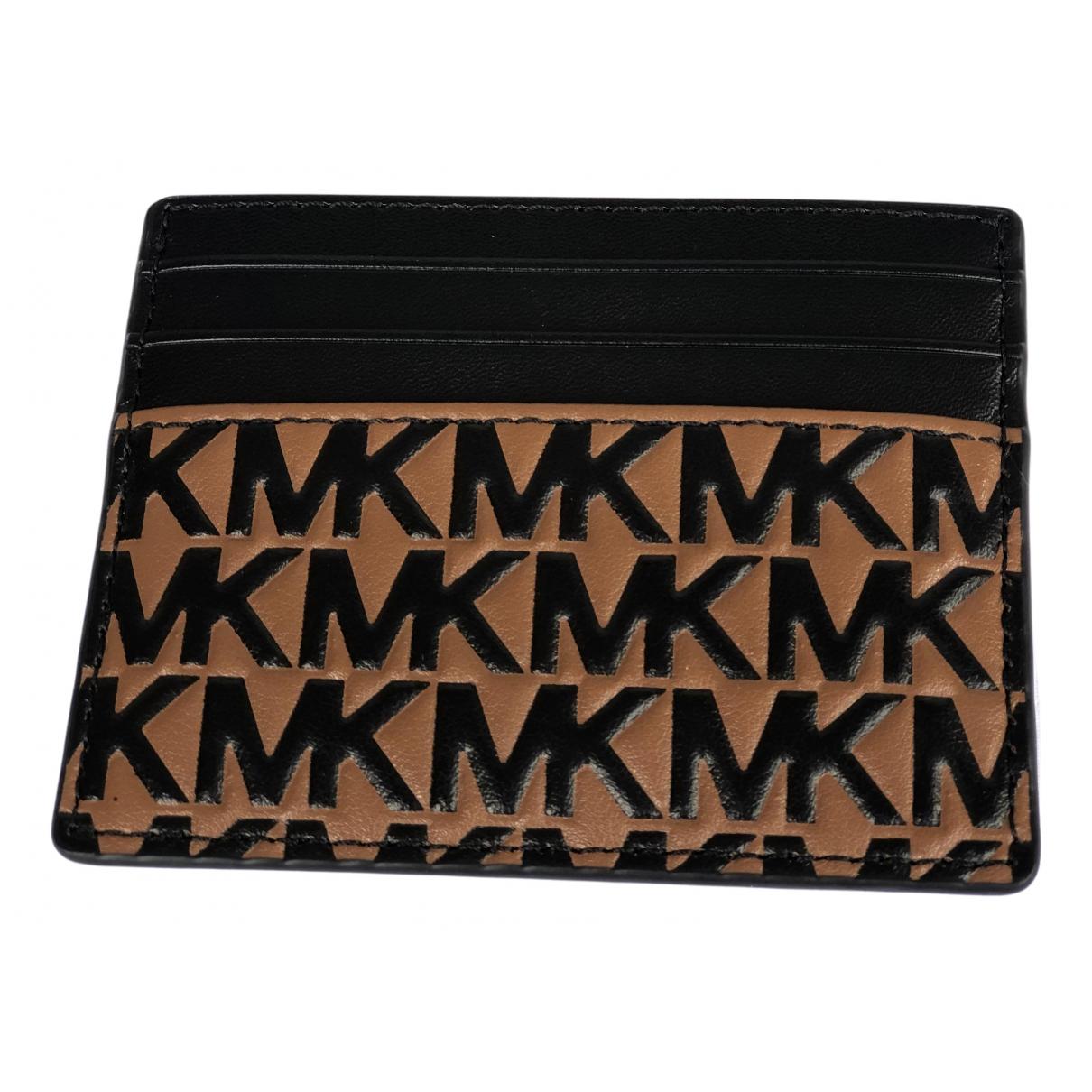 Michael Kors - Portefeuille   pour femme en cuir - multicolore