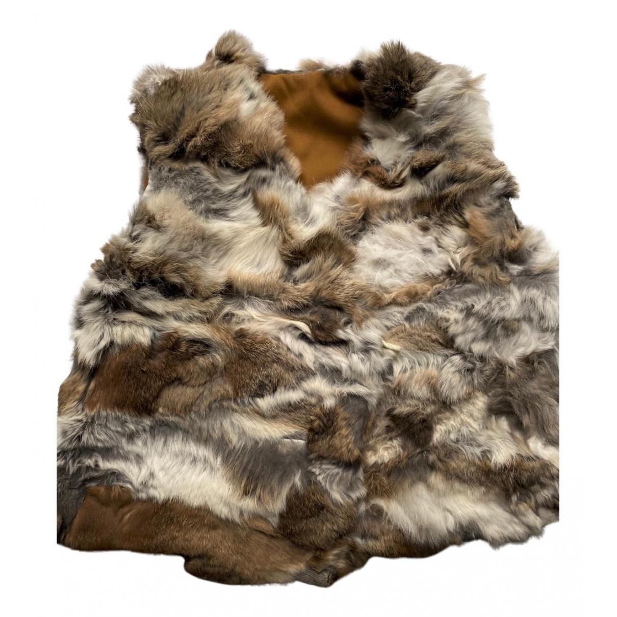 Talc - Blousons.Manteaux   pour enfant en lapin - blanc