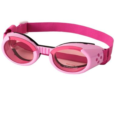 Doggles ILS - Interchangeable Lens System - Pink Frame / Pink Lens - XSmall