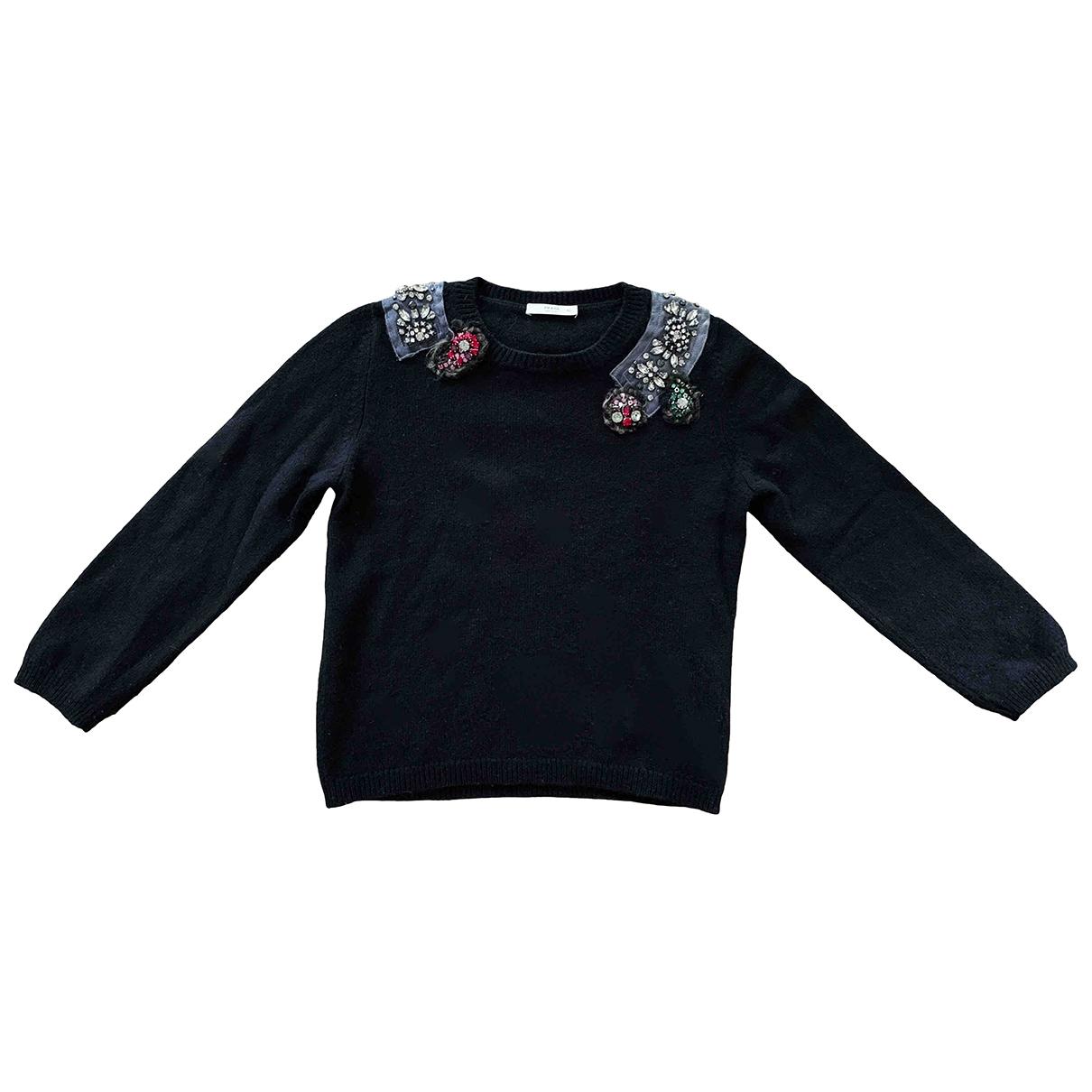 Prada \N Black Cashmere Knitwear for Women 42 IT