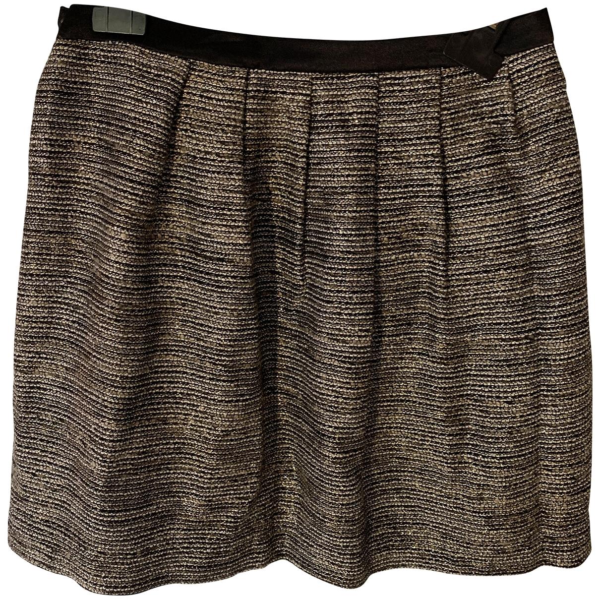 Claudie Pierlot \N Brown skirt for Women 36 FR