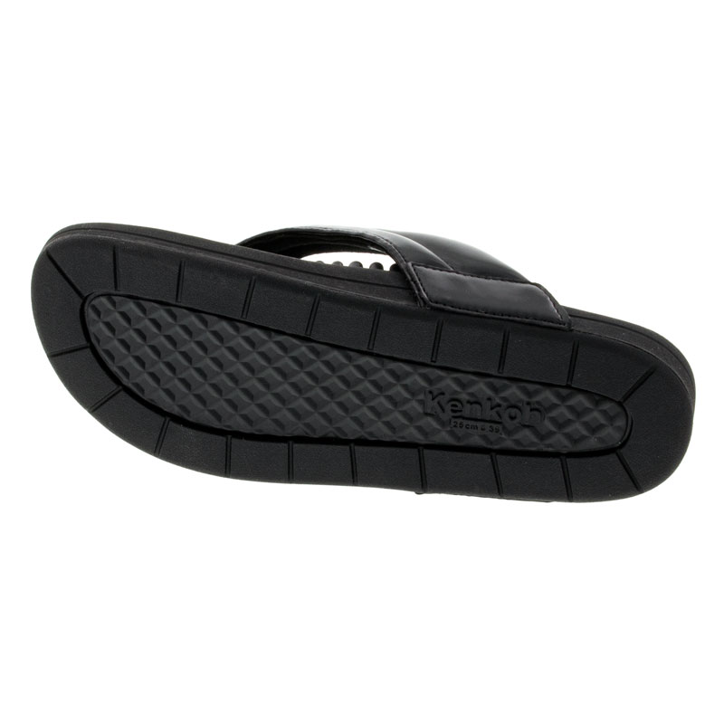 Kenkoh Spirit V Black Massage Sandal 24