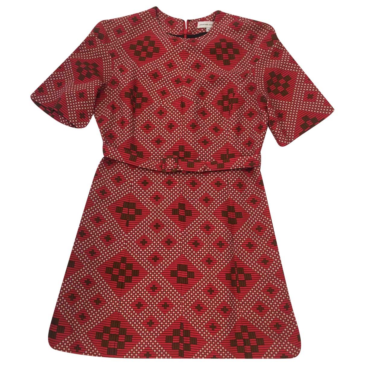 Jonathan Saunders \N Kleid in  Bunt Baumwolle