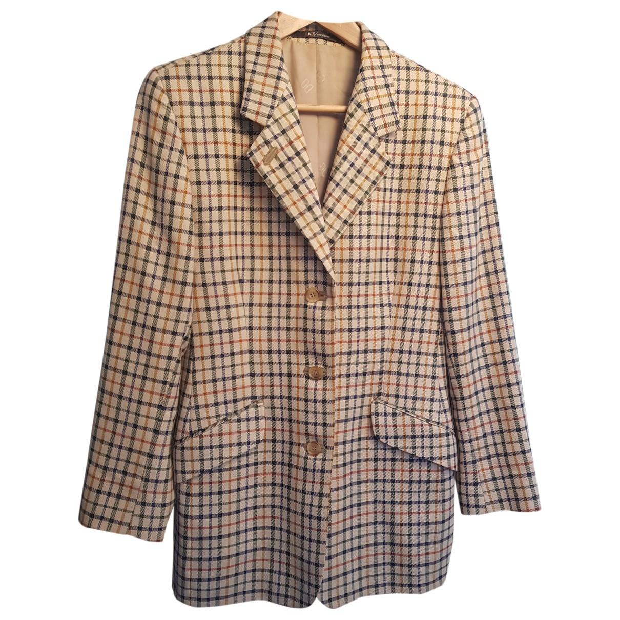 Daks \N Multicolour Wool jacket for Women 12 UK