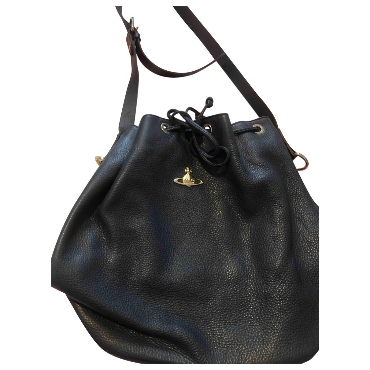 Vivienne Westwood \N Leather handbag for Women \N