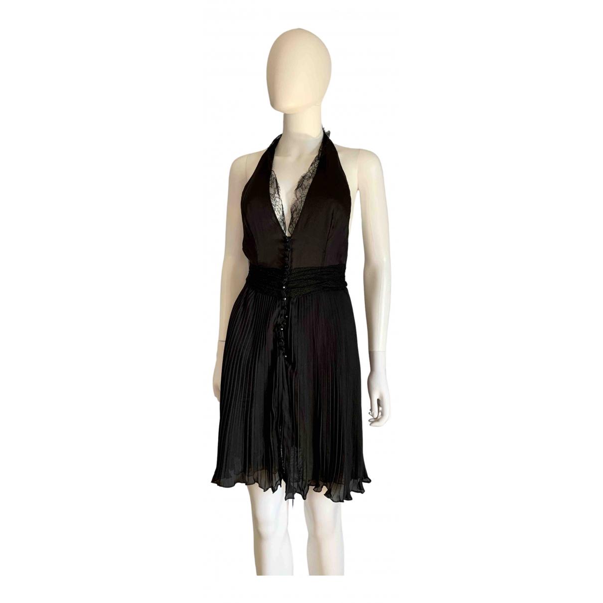 Gianni Versace - Robe   pour femme en soie - noir