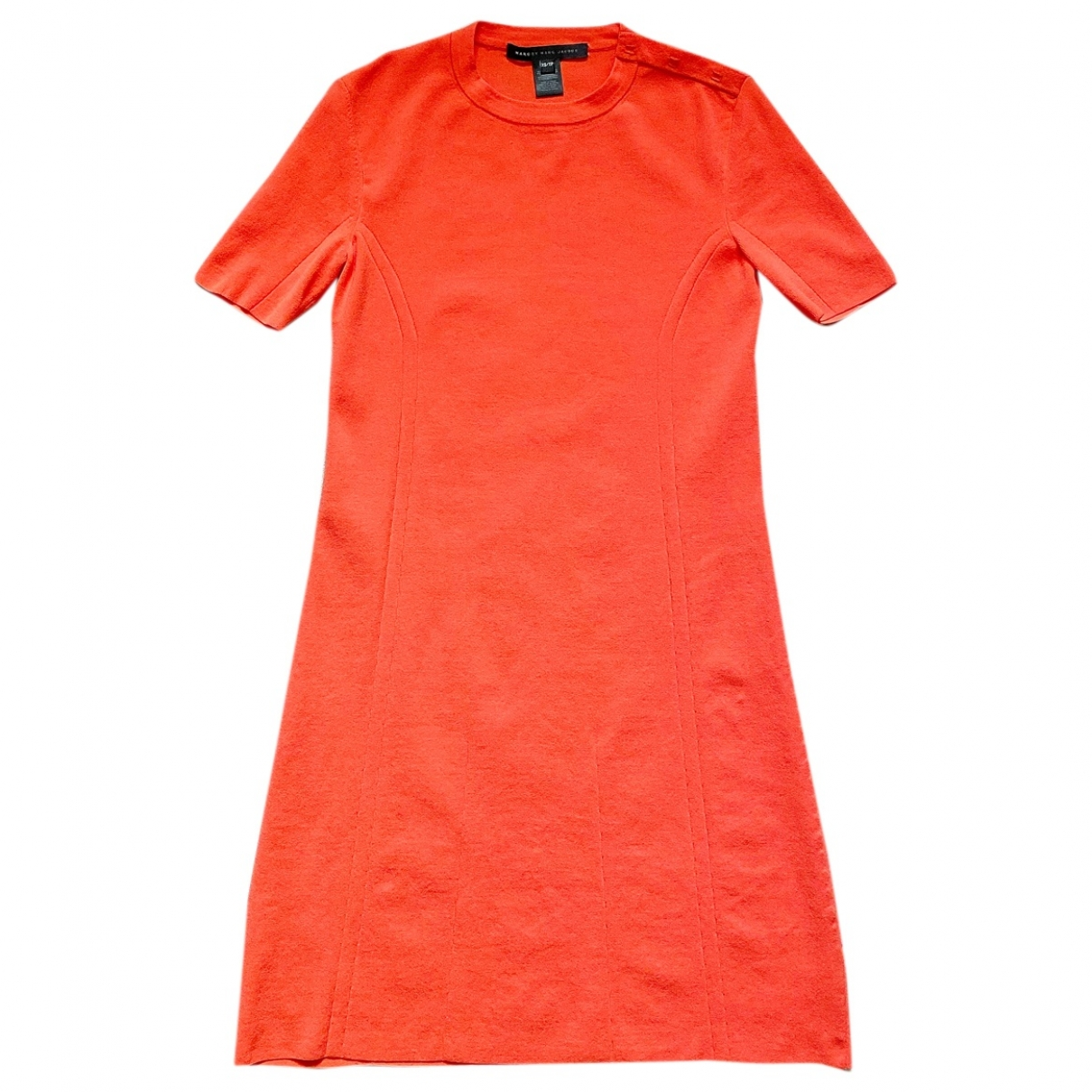 Marc By Marc Jacobs \N Kleid in  Orange Synthetik