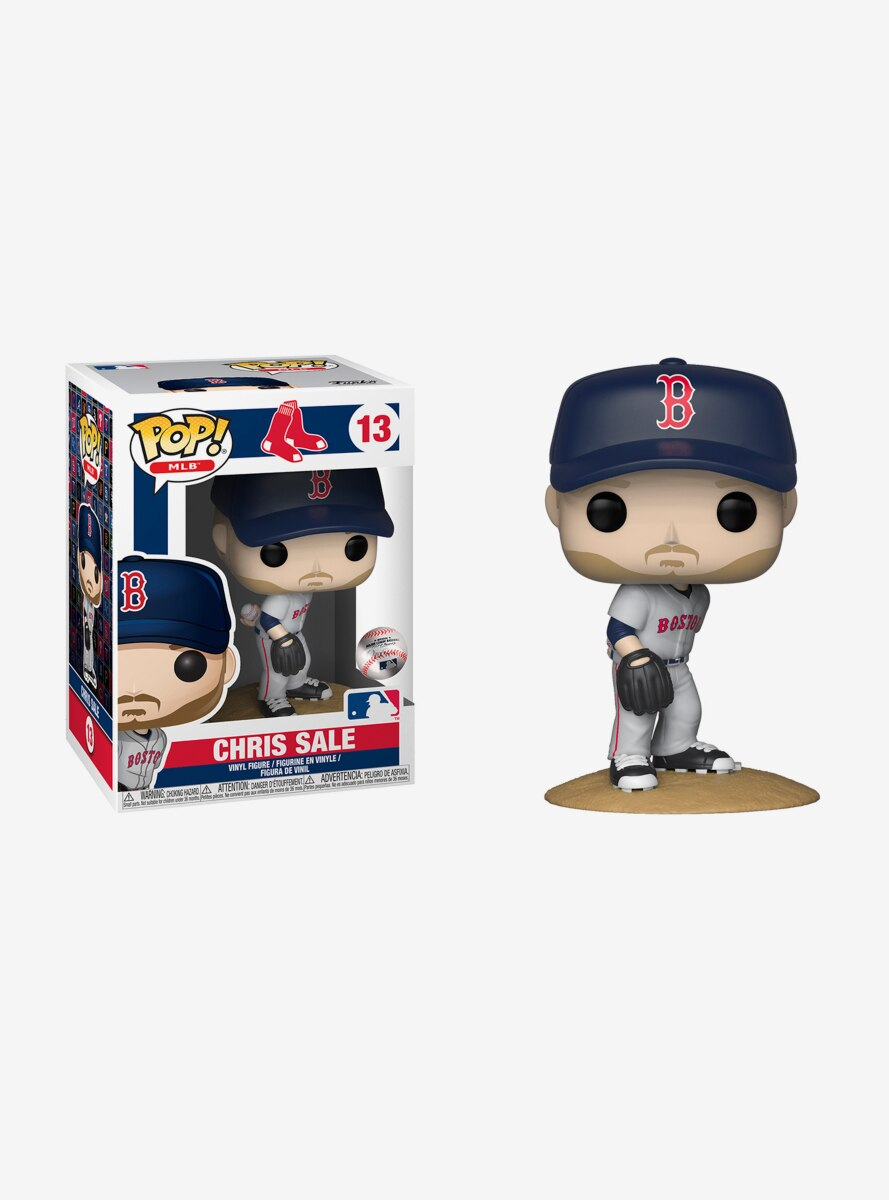 Funko Pop! MLB Boston Red Sox Chris Sale Vinyl Figure