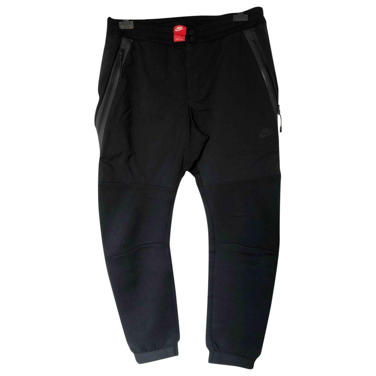 Nike - Pantalon   pour homme en coton - noir