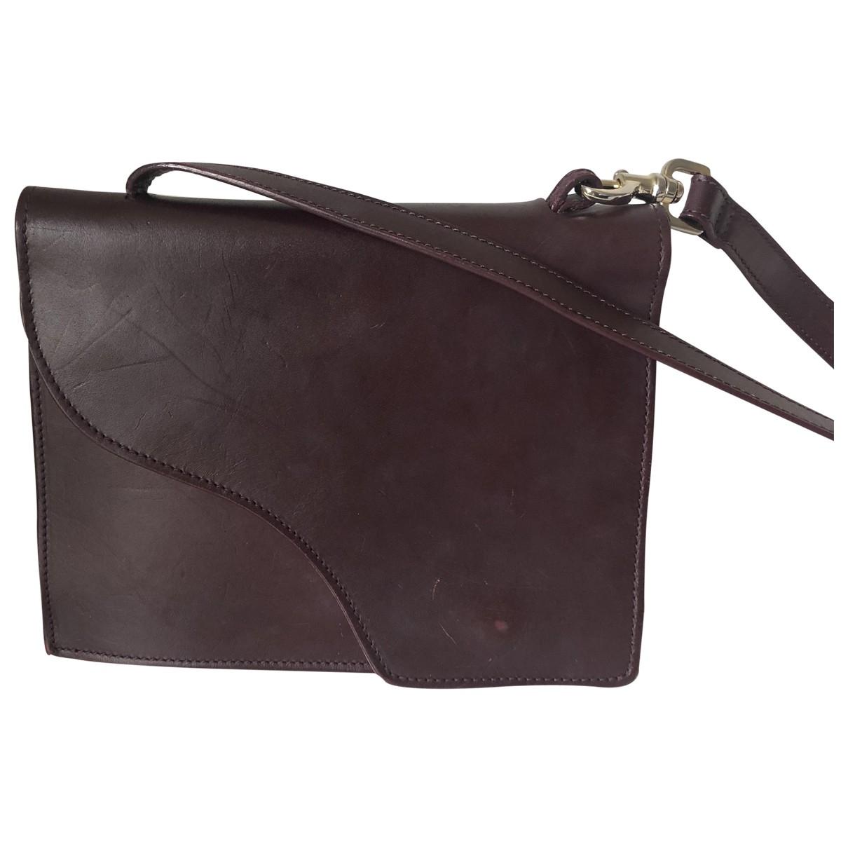 Atp Atelier \N Burgundy Leather handbag for Women \N