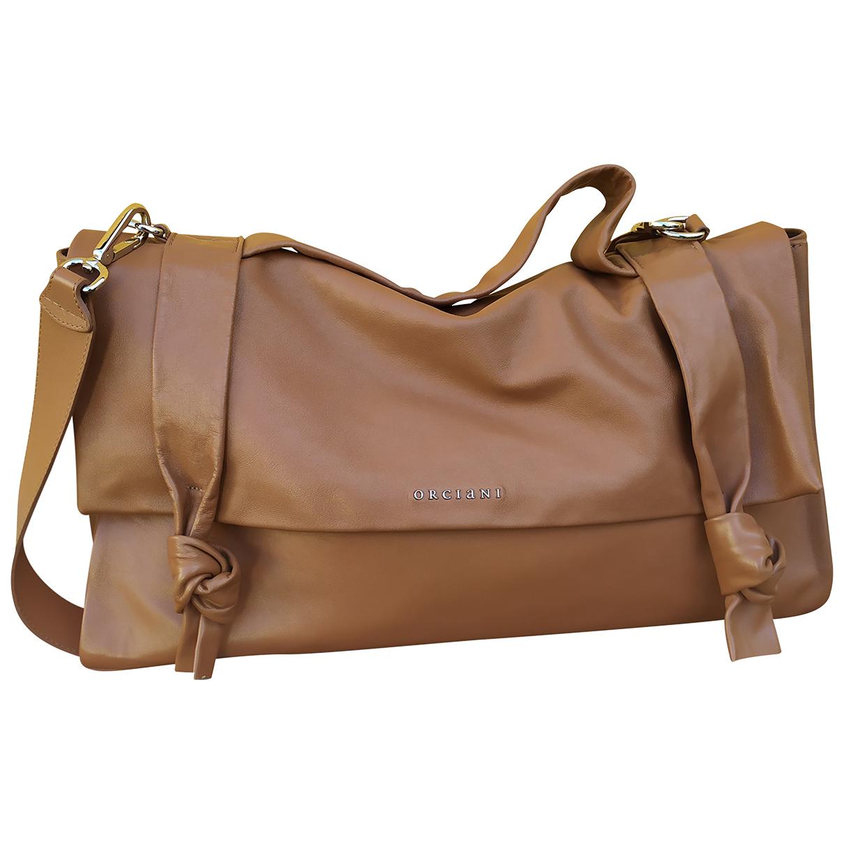 Orciani N Camel Leather handbag for Women N