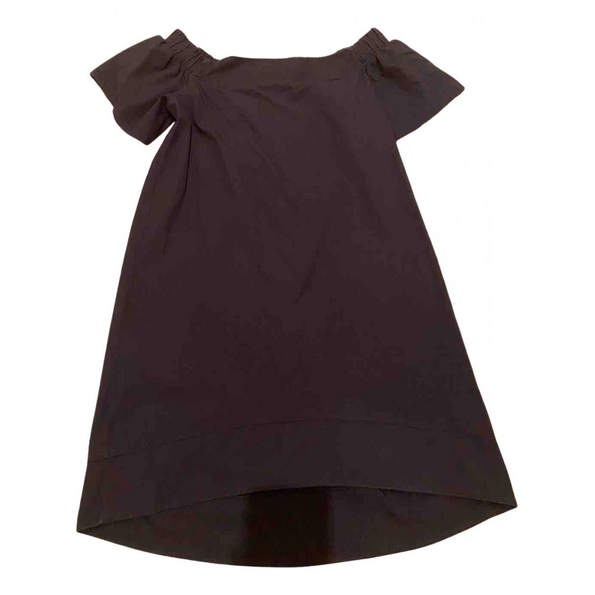 Vicolo \N Kleid in  Schwarz Baumwolle
