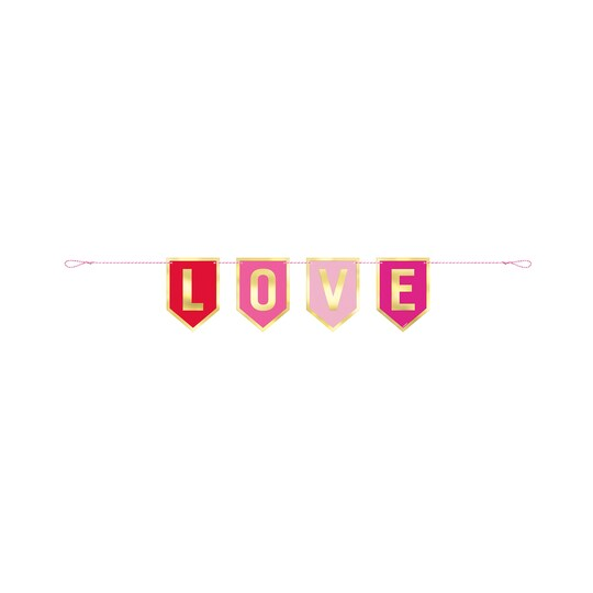 3Ft Love Valentines Day Flag Banner By Unique | Michaels®