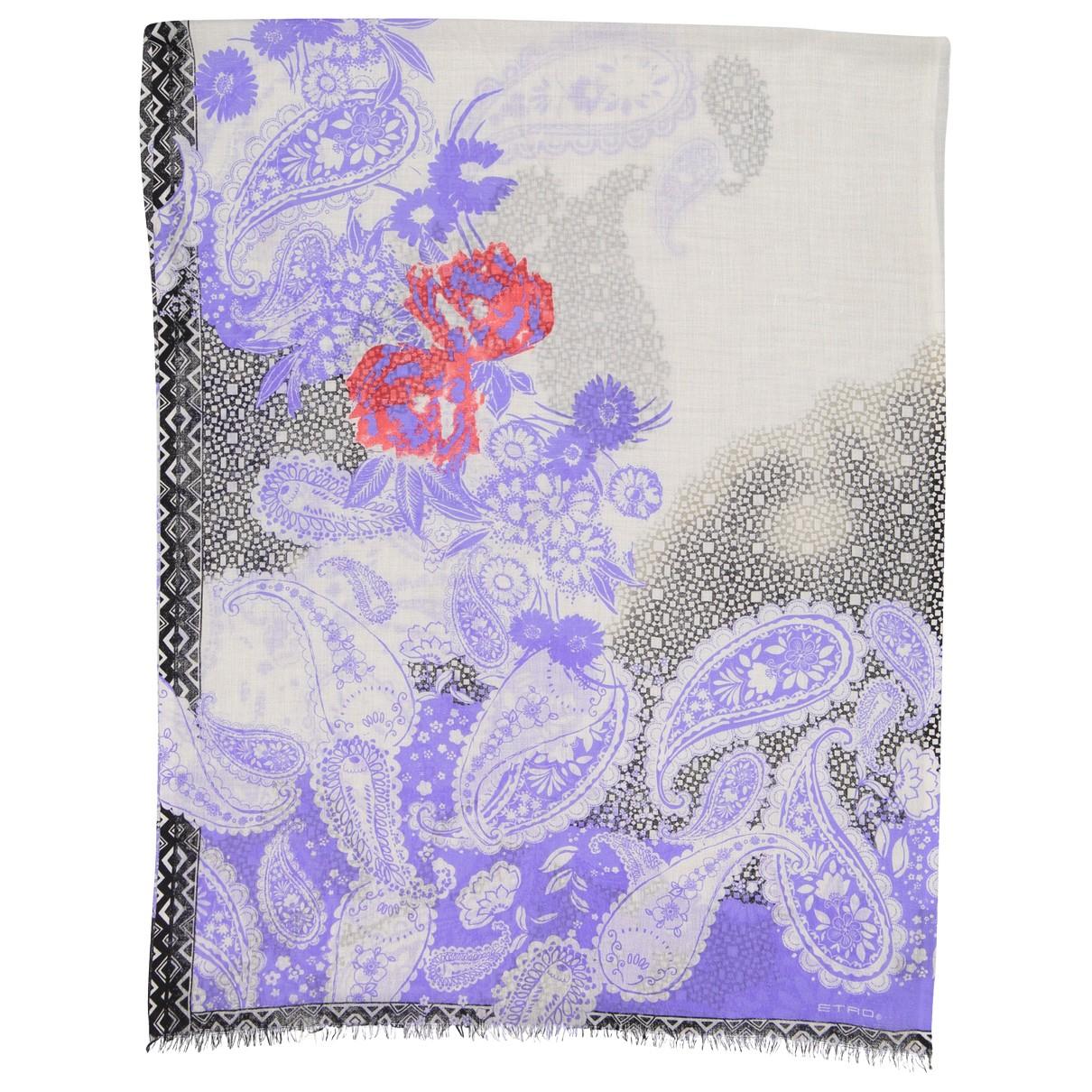 Etro - Foulard   pour femme en cachemire - multicolore