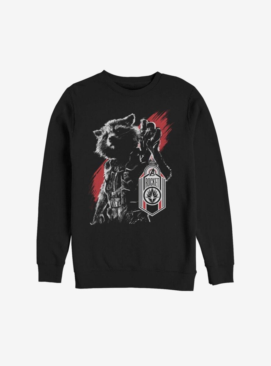 Marvel Guardians Of The Galaxy Rocket Tag Sweatshirt