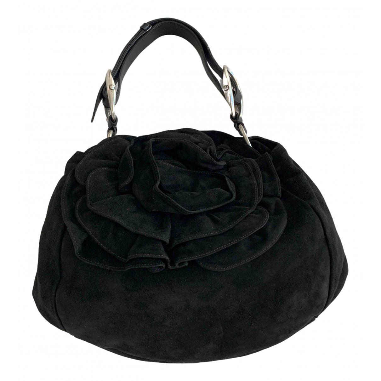 Yves Saint Laurent \N Black Suede handbag for Women \N