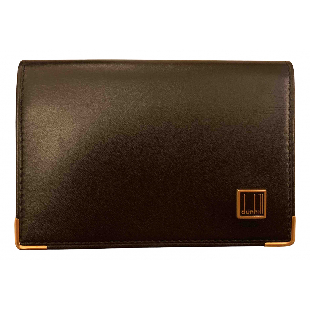 Alfred Dunhill N Black Leather Small bag, wallet & cases for Men N
