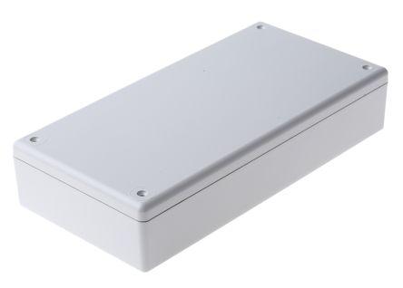 Hammond 1599 Grey ABS Handheld Enclosure, 220 x 110 x 44.75mm
