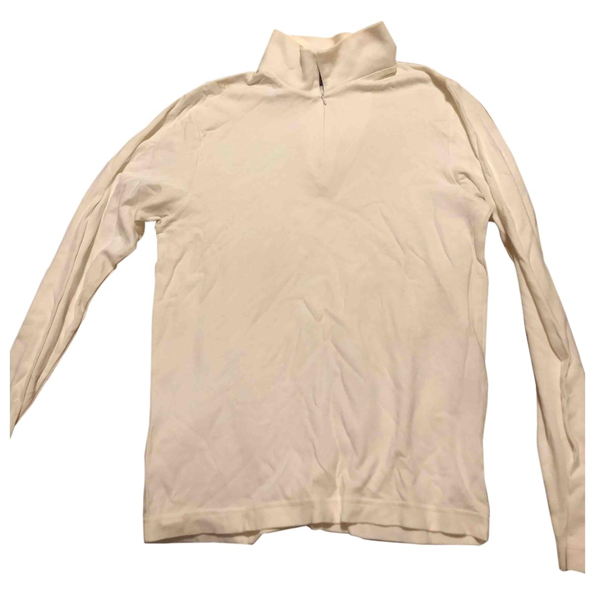 Kappa - Pulls.Gilets.Sweats   pour homme en coton - blanc