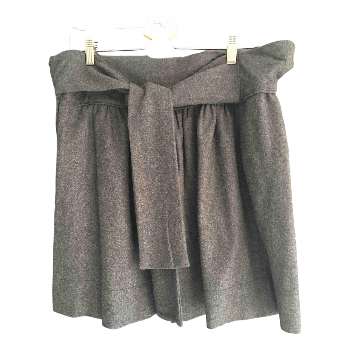 Gat Rimon - Jupe   pour femme en laine - gris
