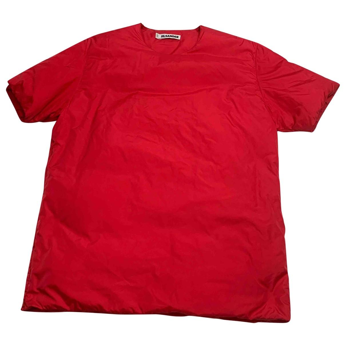 Jil Sander - Tee shirts   pour homme - rouge