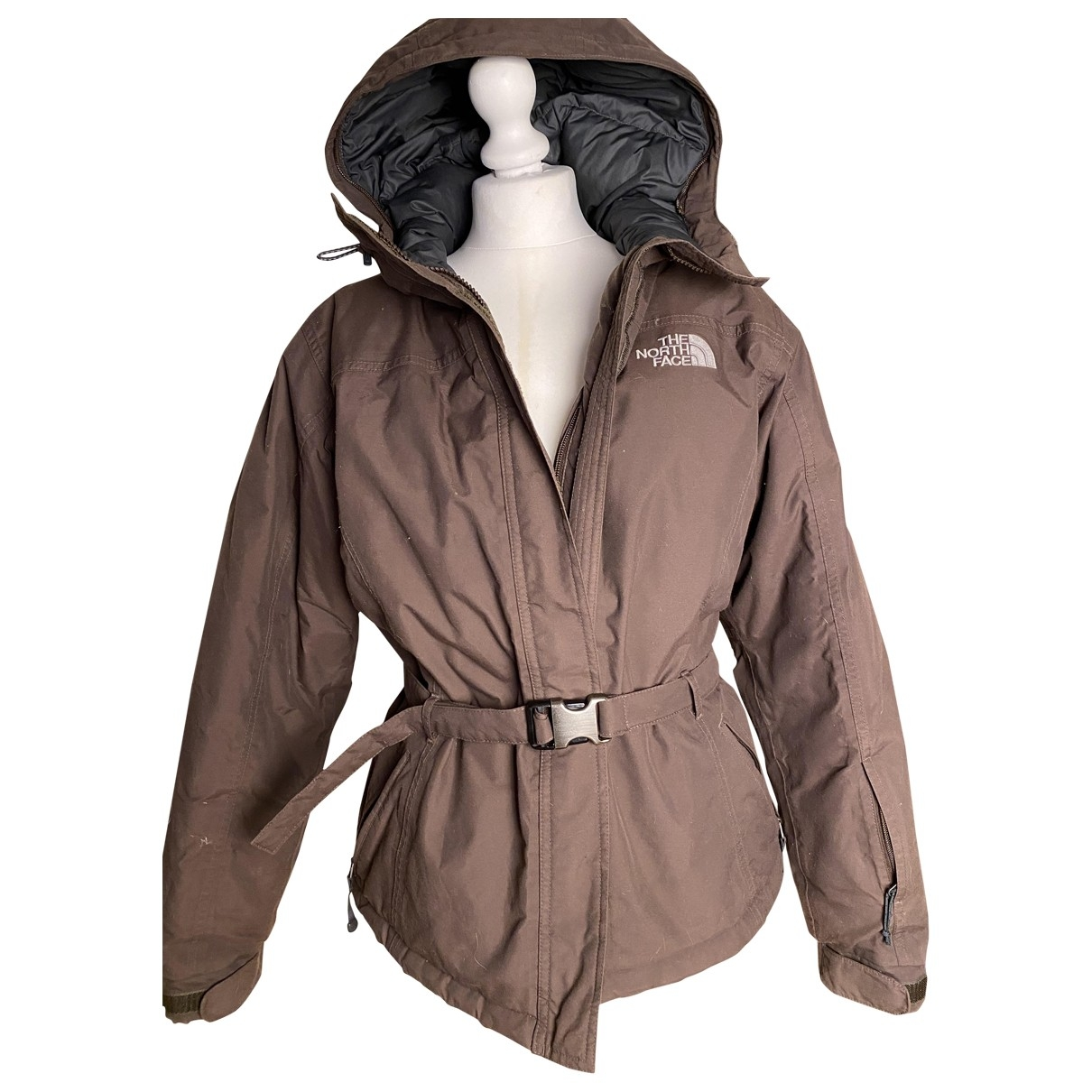 The North Face \N Jacke in  Braun Synthetik