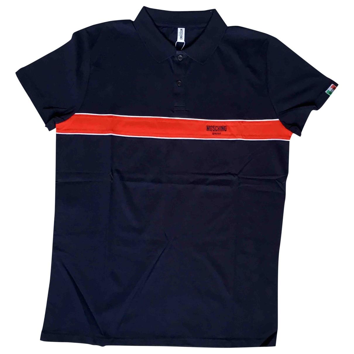 Moschino \N Poloshirts in  Marine Baumwolle