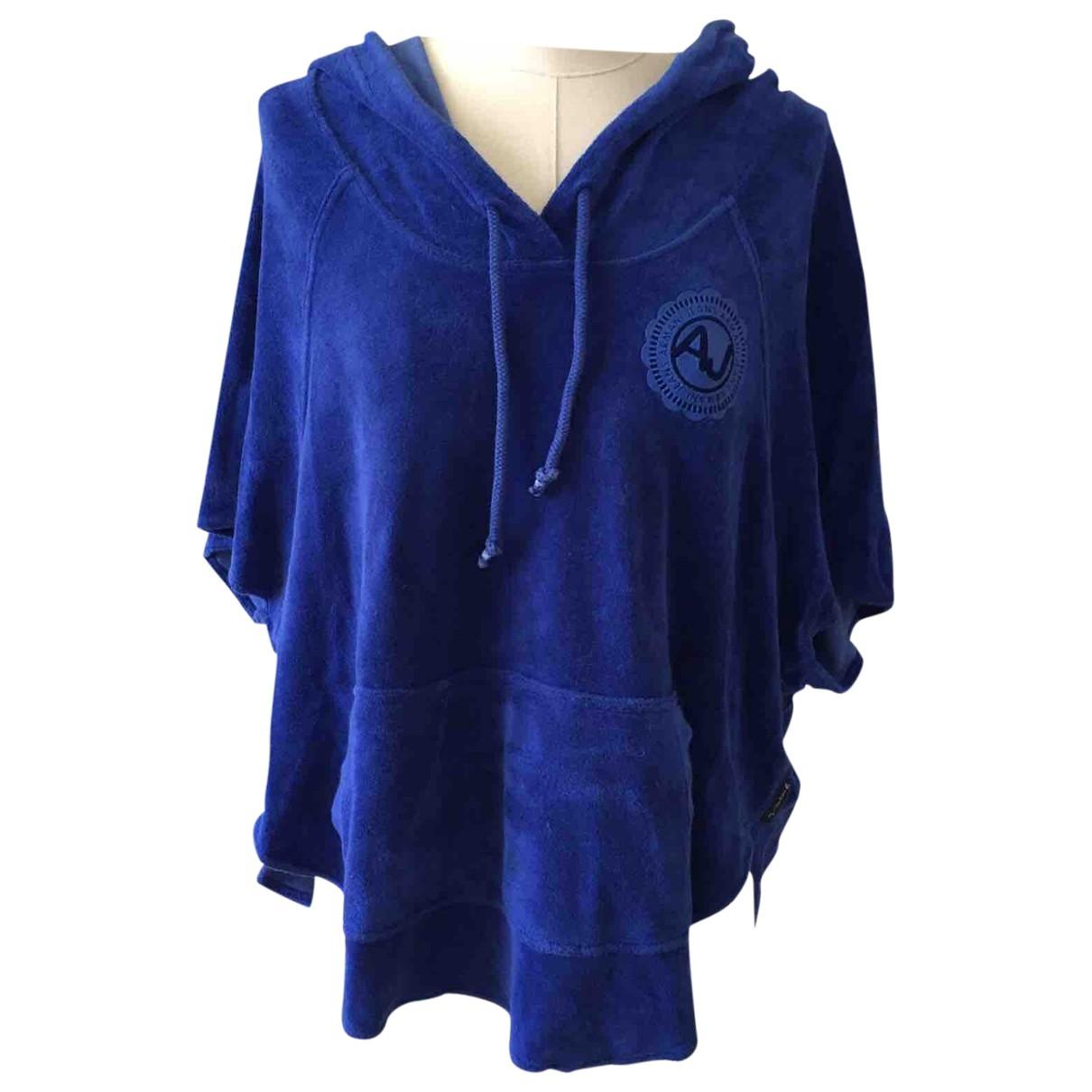 Armani Jeans \N Blue Cotton Knitwear for Women S International