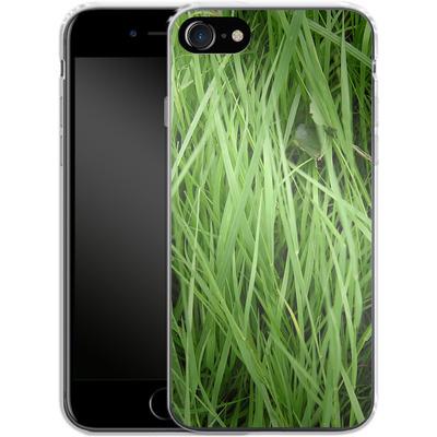 Apple iPhone 8 Silikon Handyhuelle - Grass von caseable Designs