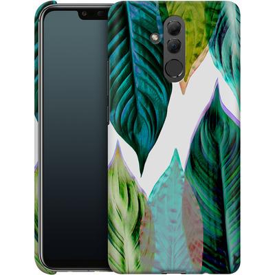 Huawei Mate 20 Lite Smartphone Huelle - Green Leaves von Mareike Bohmer