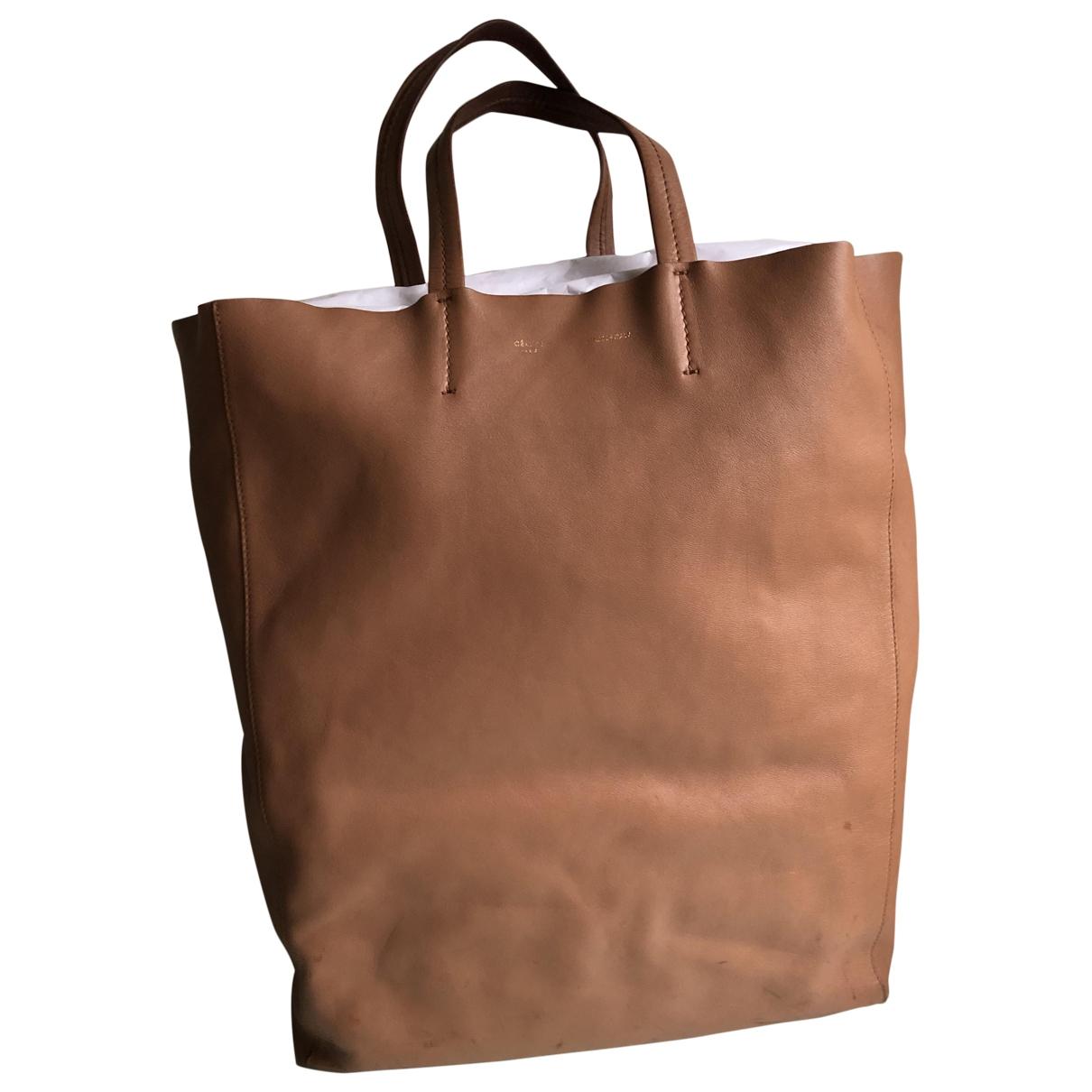 Celine Cabas Handtasche in  Kamel Leder