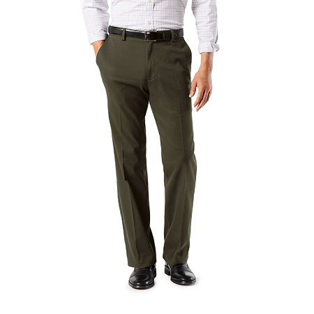 Dockers Men's Classic Fit Easy Khaki with Stretch Pants D3, 36 30, Green