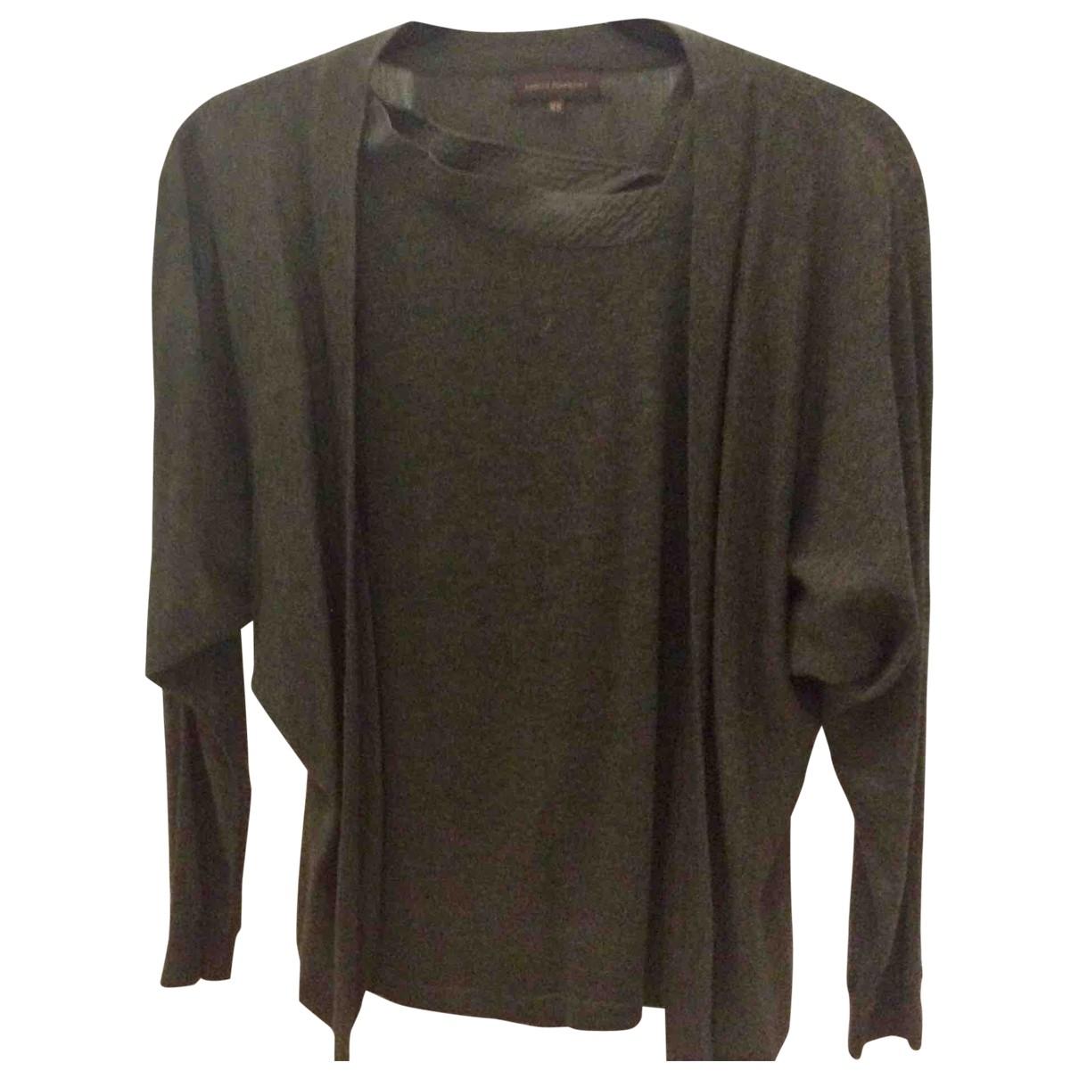 Adolfo Dominguez \N Pullover in  Gruen Wolle