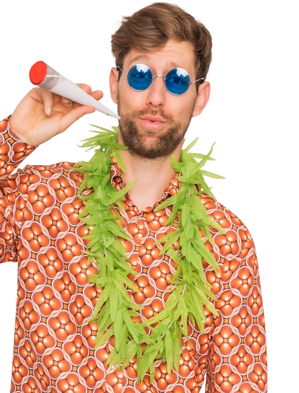 Kostuemzubehor Hawaiikette Marihuana Farbe: gruen