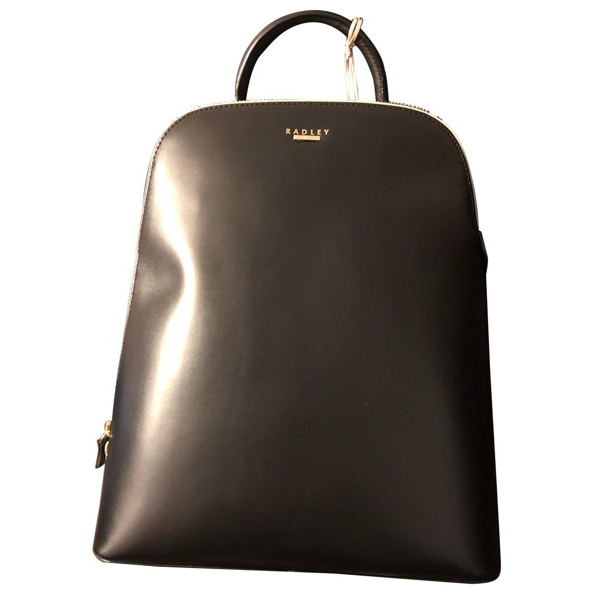 Radley London \N Black Leather backpack for Women \N
