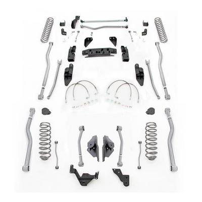 Rubicon Express 4.5 Inch Extreme Duty 4-LINK Long Arm Lift Kit - JK4444