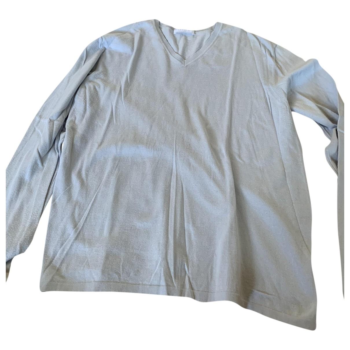 Prada \N Pullover.Westen.Sweatshirts  in  Blau Baumwolle