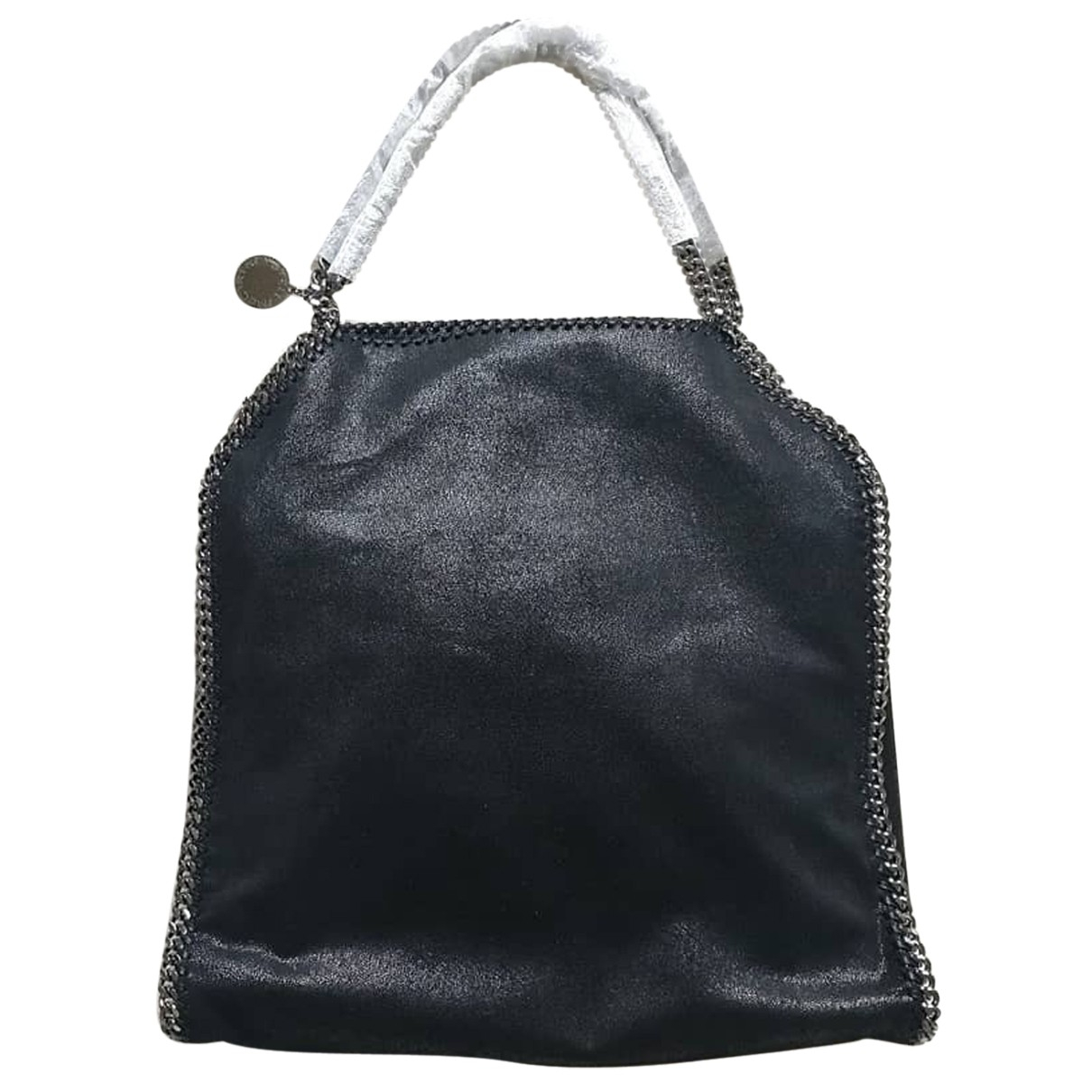 Stella Mccartney Falabella Handtasche in  Schwarz Synthetik