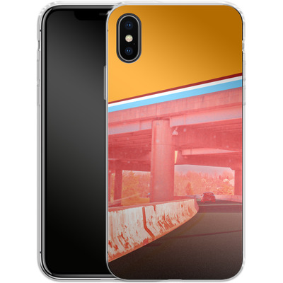 Apple iPhone X Silikon Handyhuelle - Bridge von Brent Williams