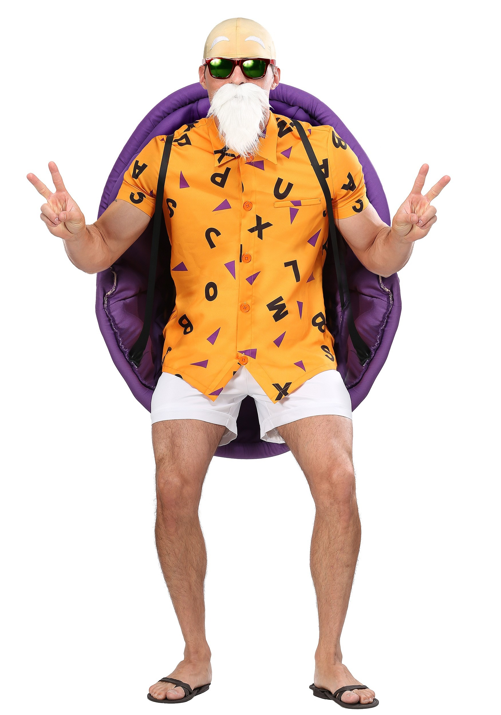 Dragon Ball Z Master Roshi Costume for Adults