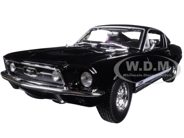 1967 Ford Mustang GTA Fastback Black