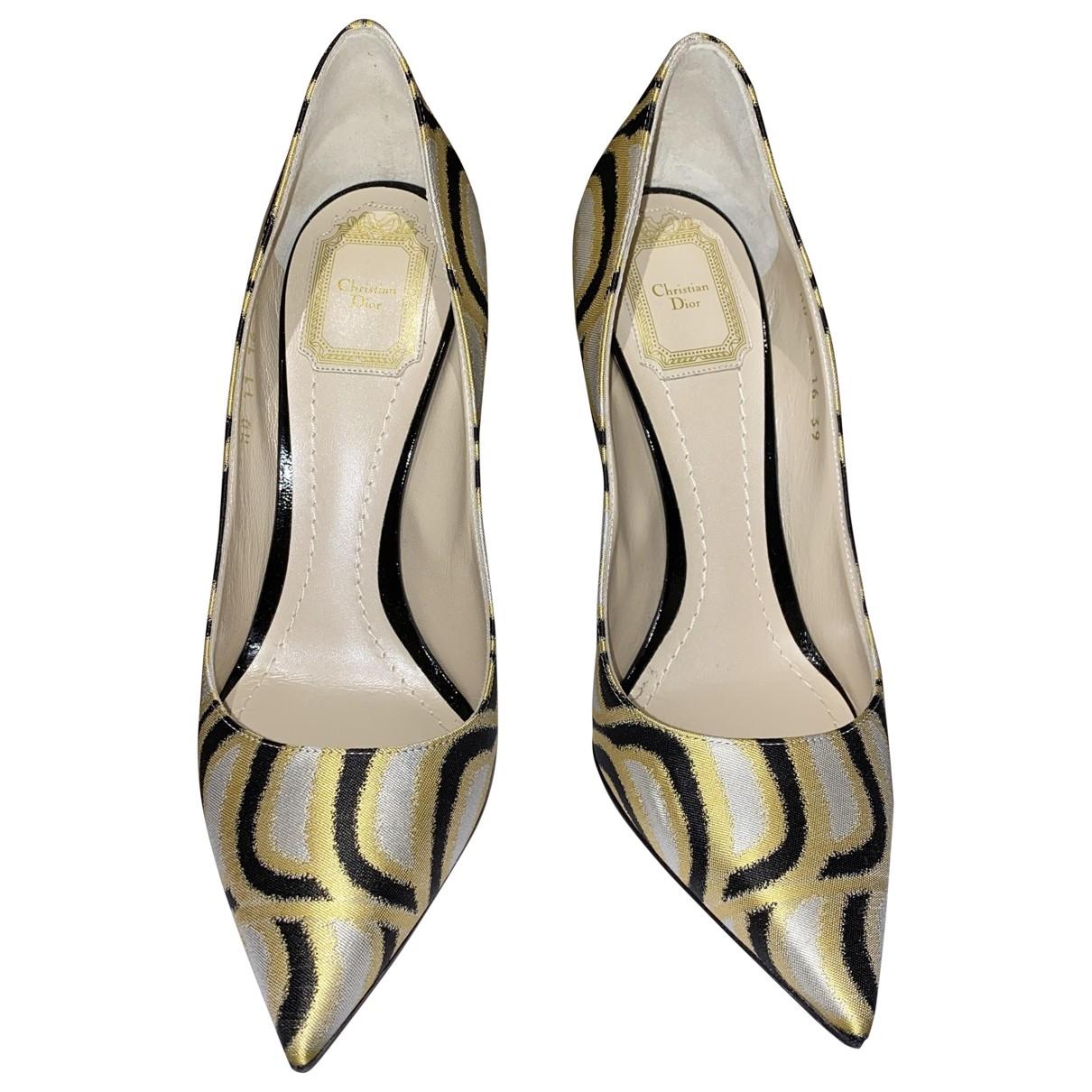 Tacones Dior D-Stiletto de Lona Dior