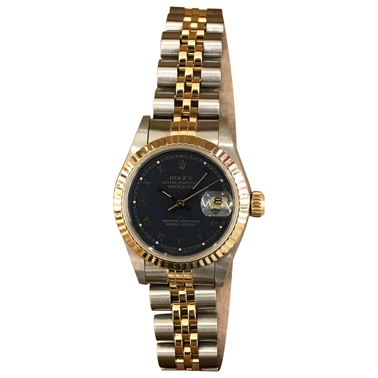 Rolex - Montre Lady DateJust 26mm pour femme en or et acier