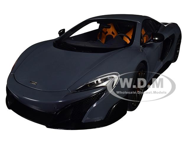 McLaren 675LT Chicane Gray 1/18 Model Car by Autoart