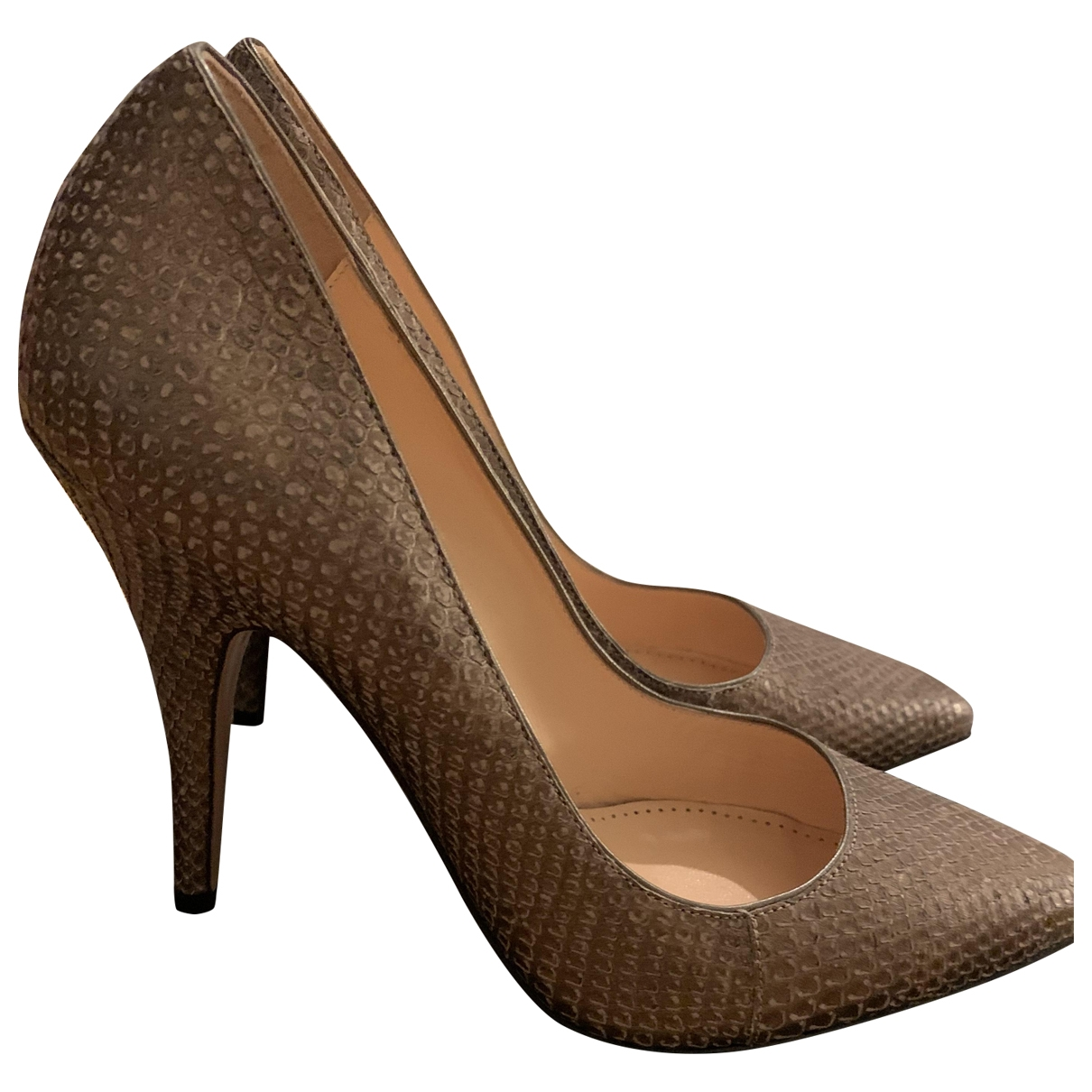 Bally \N Pumps in  Beige Leder