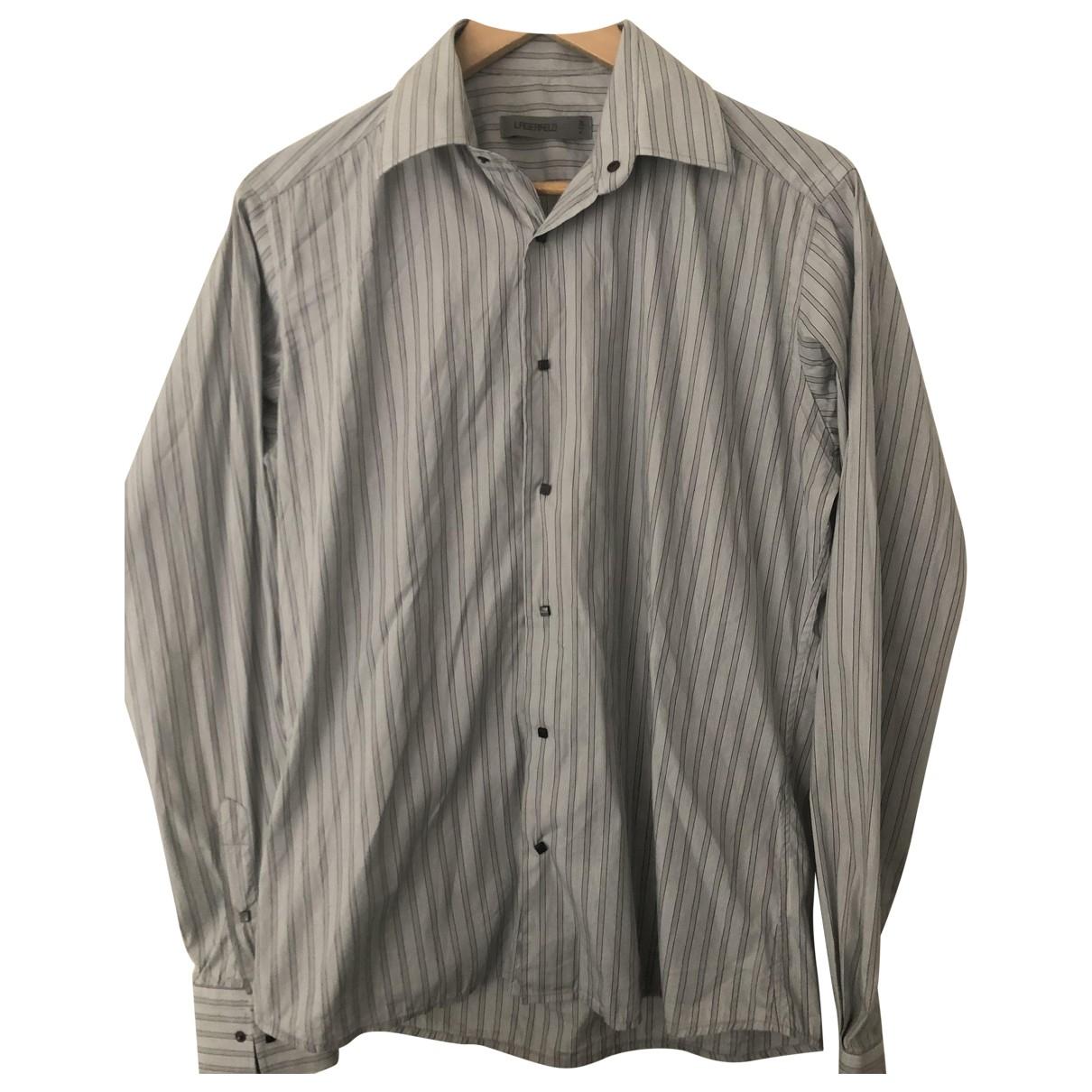 Karl Lagerfeld \N Hemden in  Grau Baumwolle