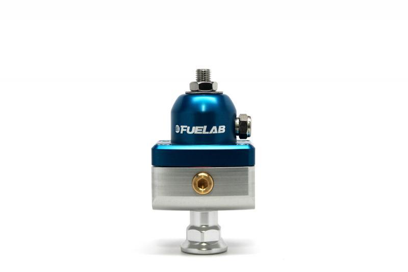 Fuelab 57504-3 CARB Fuel Pressure Regulator, Blocking Style, Mini