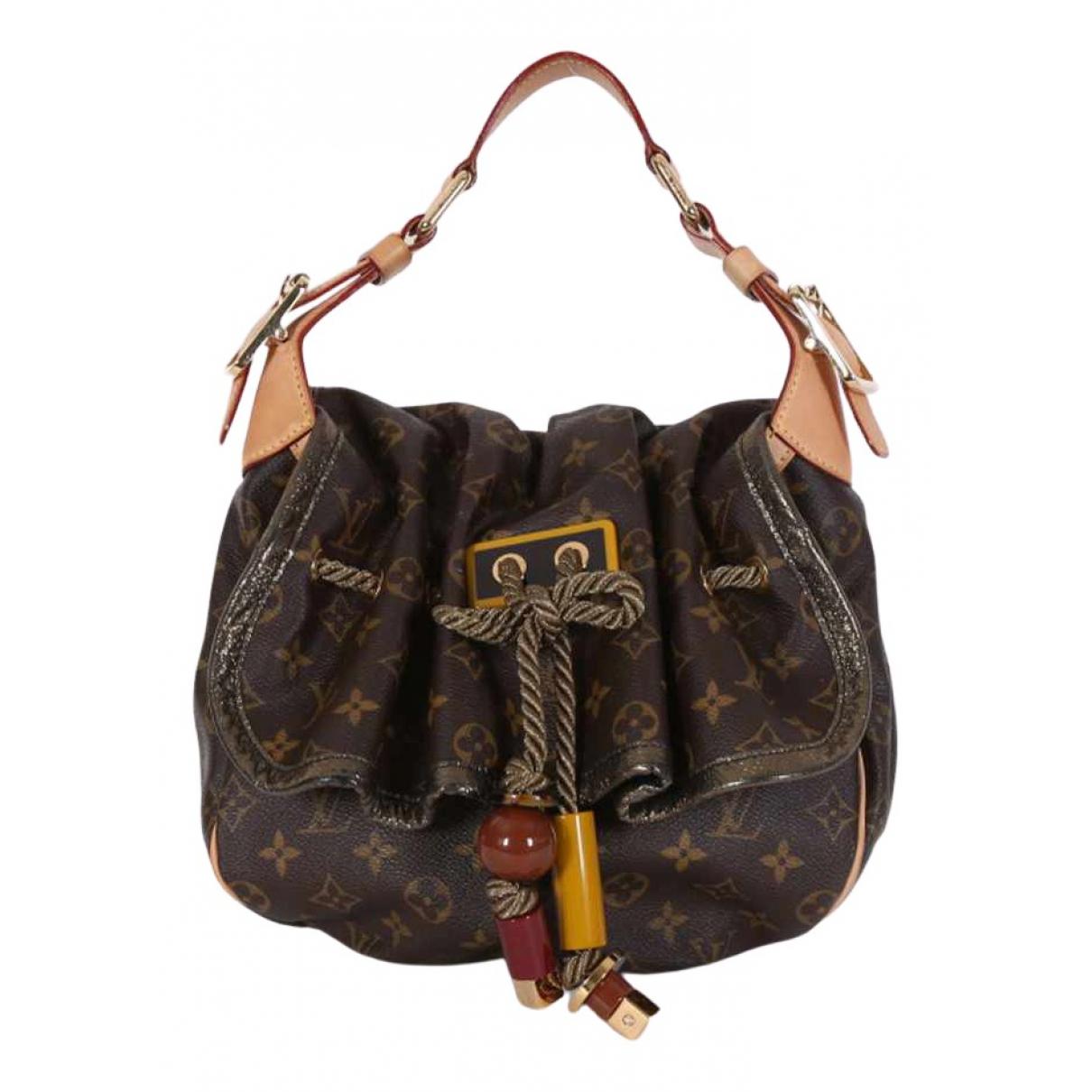Bolso  Kalahari de Lona Louis Vuitton